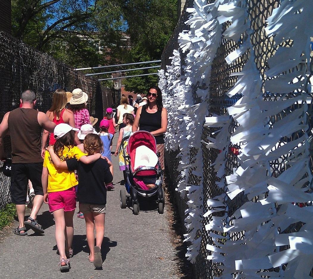 Gledhill Fence Art / 100 In 1 Day