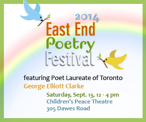 East End Poetry Festival banner