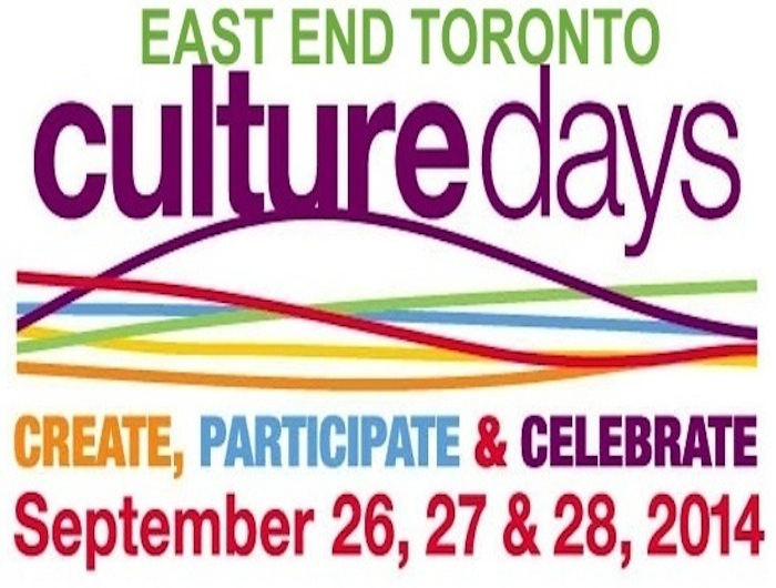 2014 Culture Days Activities In Toronto's East End