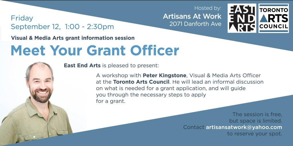 Grant Info Session banner