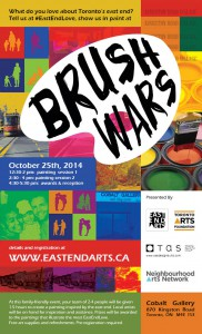 Brush Wars Poster