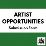 Artist Opportunities Submission Form