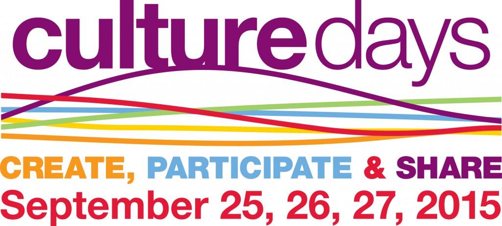 Culture Days 2015 Logo