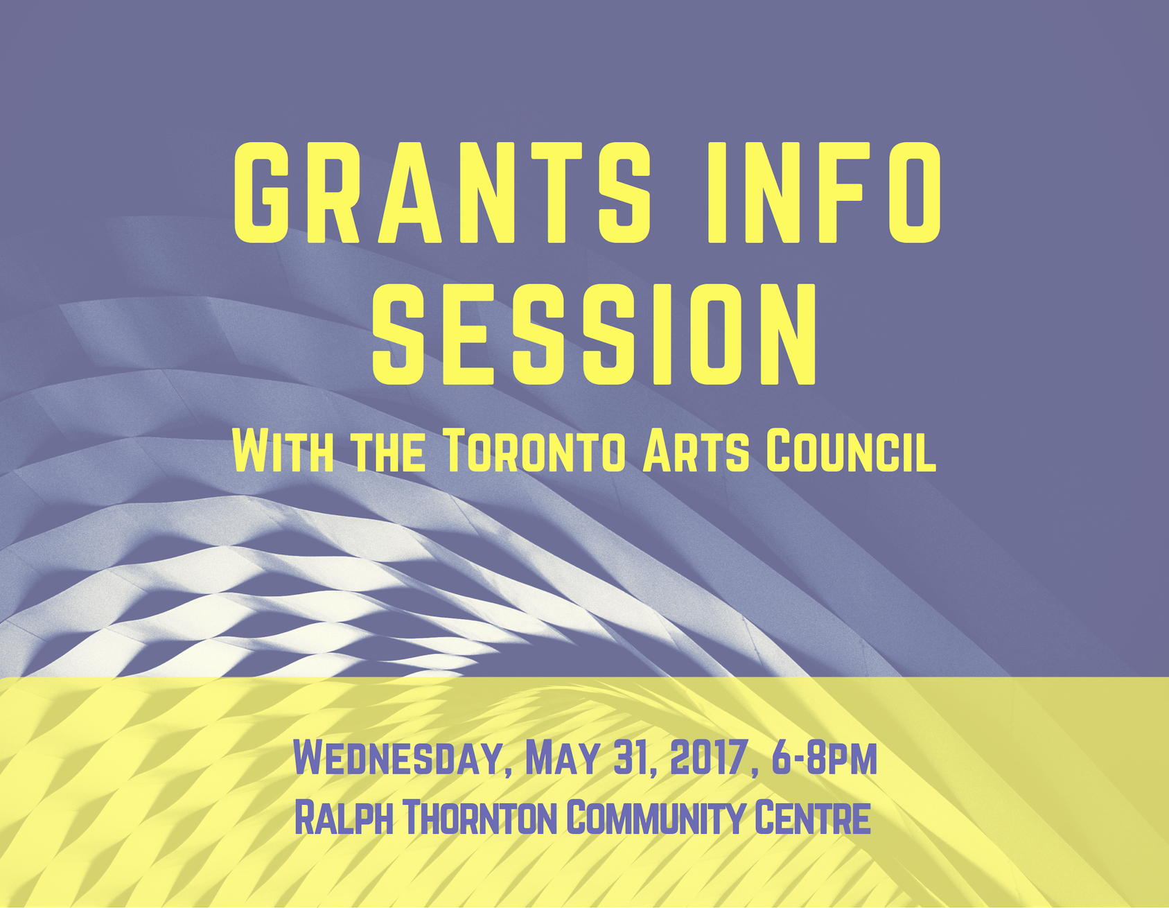 Grants Info Session