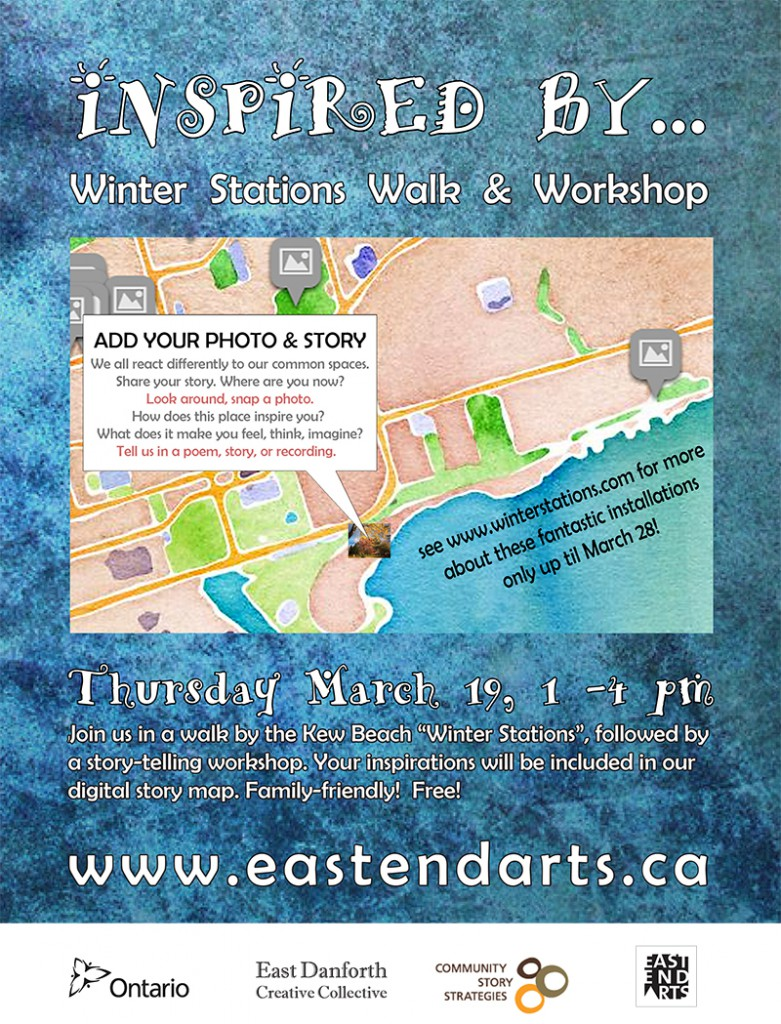 Inspired By Winter Stations workshop