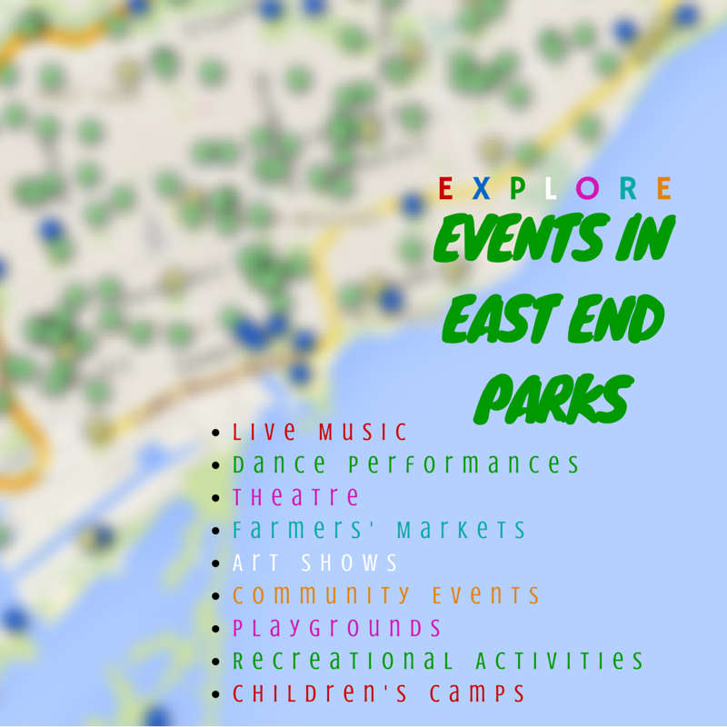EVENTS IN EAST END PARKS