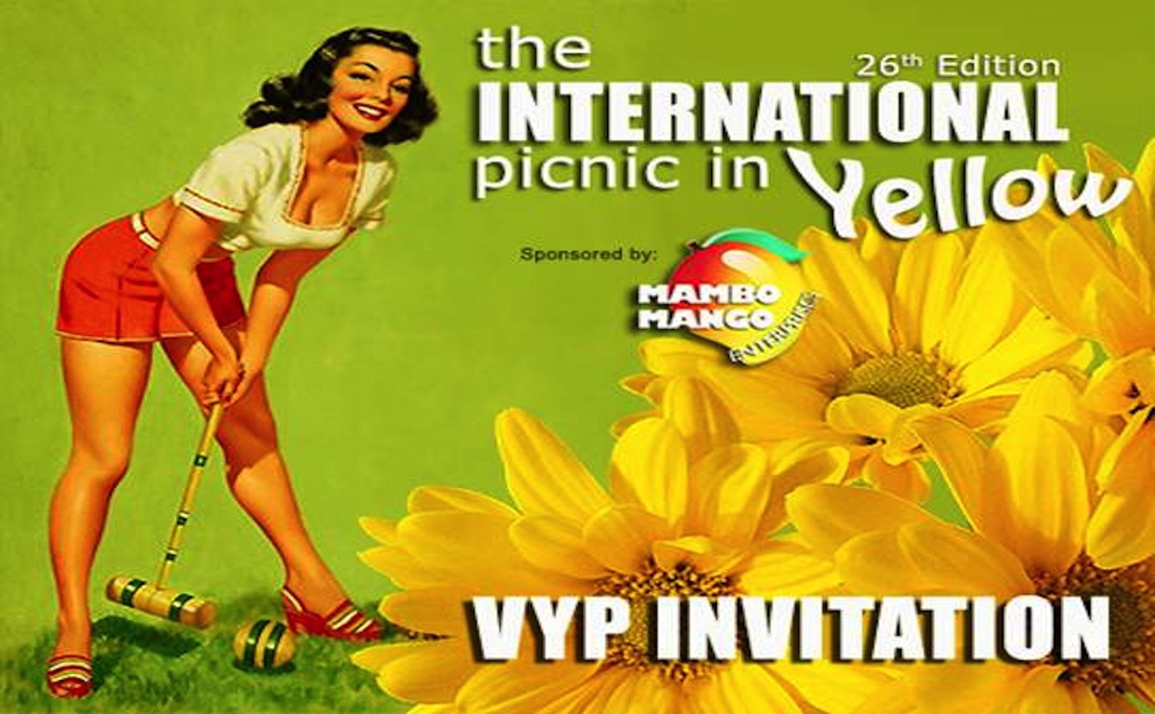 The INTERNATIONAL Picnic In Yellow