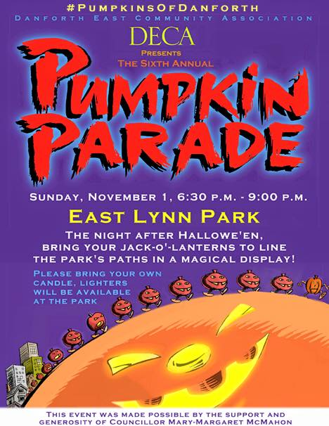 DECA Pumpkin Parade 2015