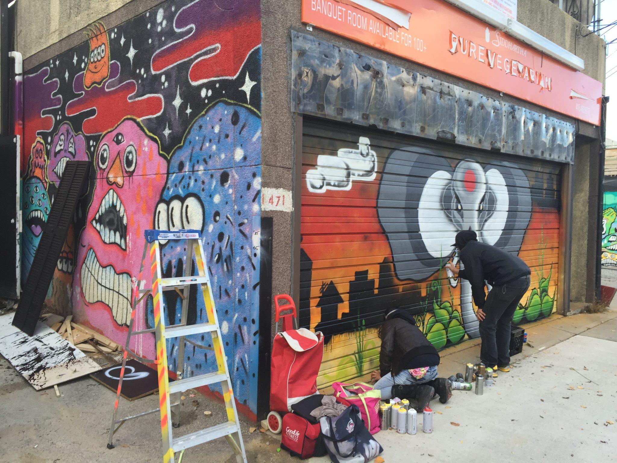 Graffiti Alley East