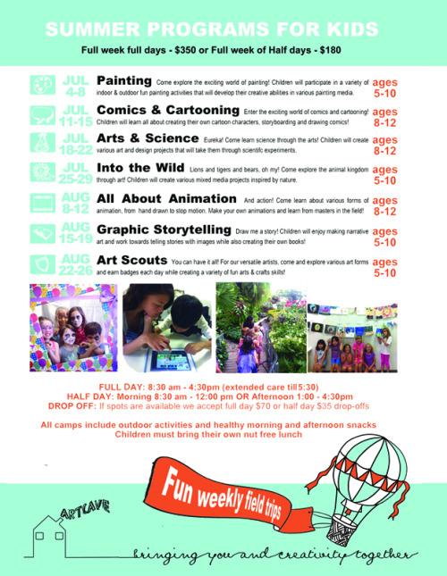 ArtCave Summer Camp 2016