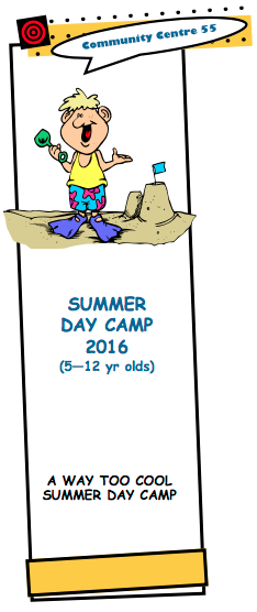 Centre 55_2016 Summer Camps