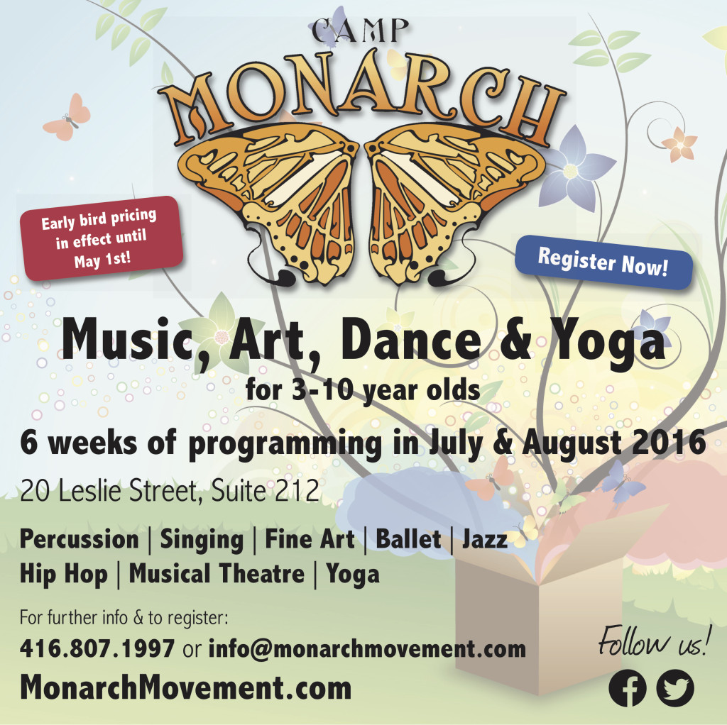 Monarch Movement_Summer Camps 2016