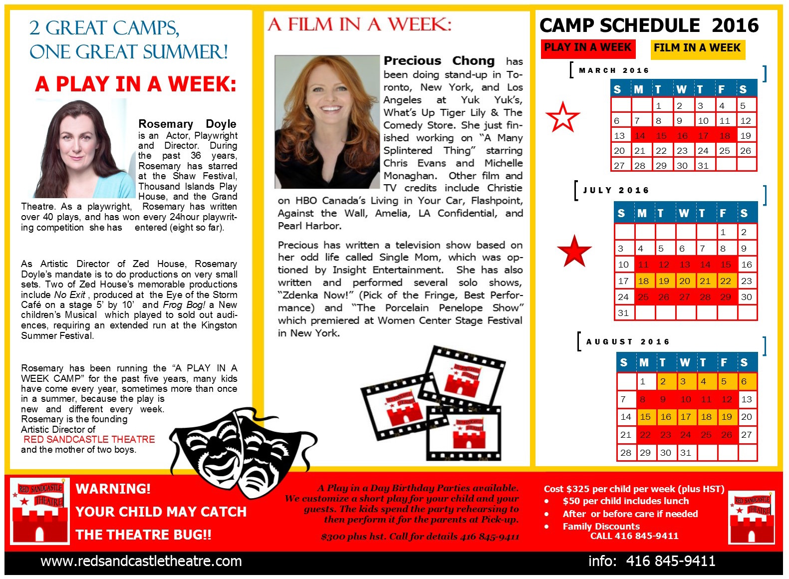 Red Sandastle Theatre_2016 Summer Camps