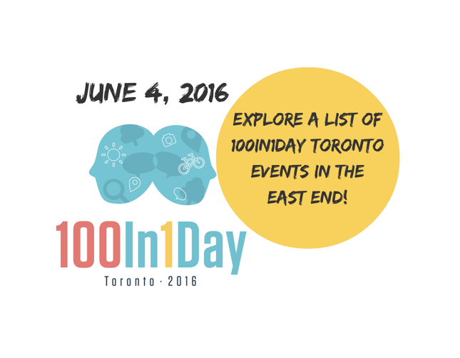 100In1Day Toronto: East End