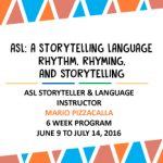 ASL – A Storytelling Language