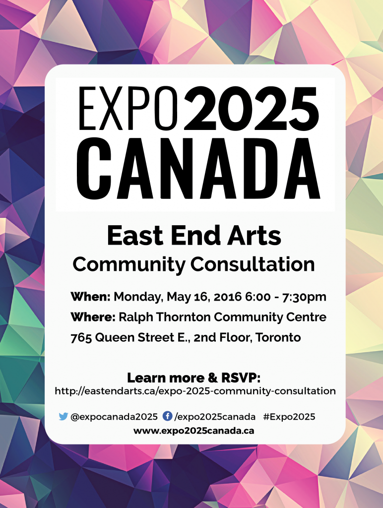 EXPO 2025 Community Consultation May 16