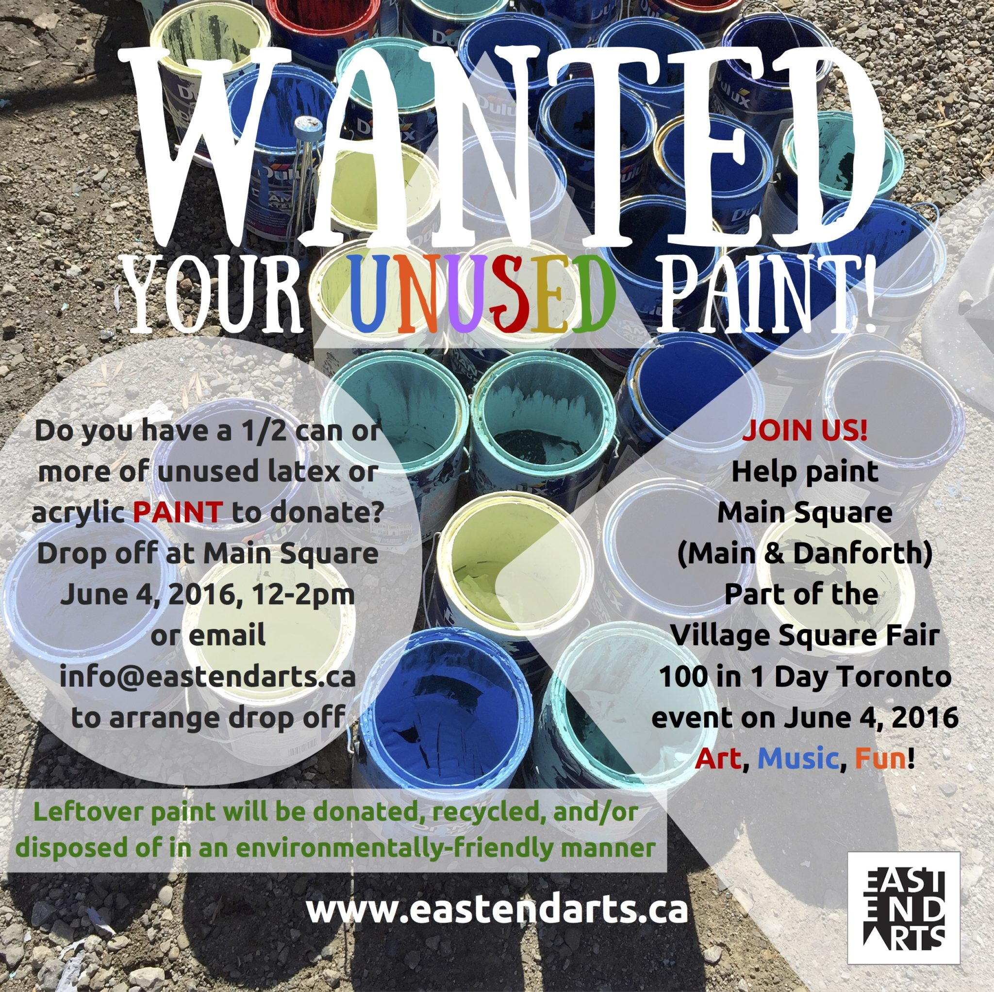 Paint Wanted_100 in 1 Day Toronto 2016