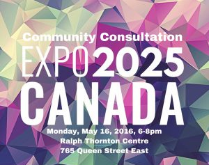 EXPO 2025 Canada Community Consultation