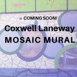 Coxwell Laneway Mosaic Mural