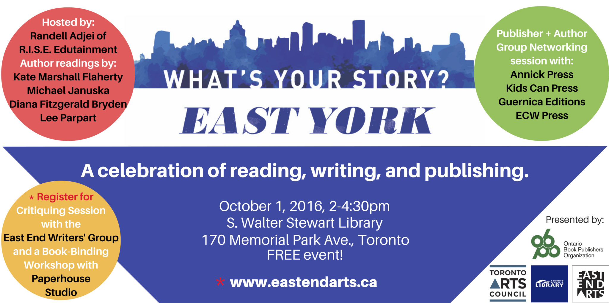 What's Your Story East York_Oct 1
