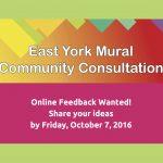 East York Mural Community Consultation
