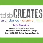 tdsbCREATES Info Session