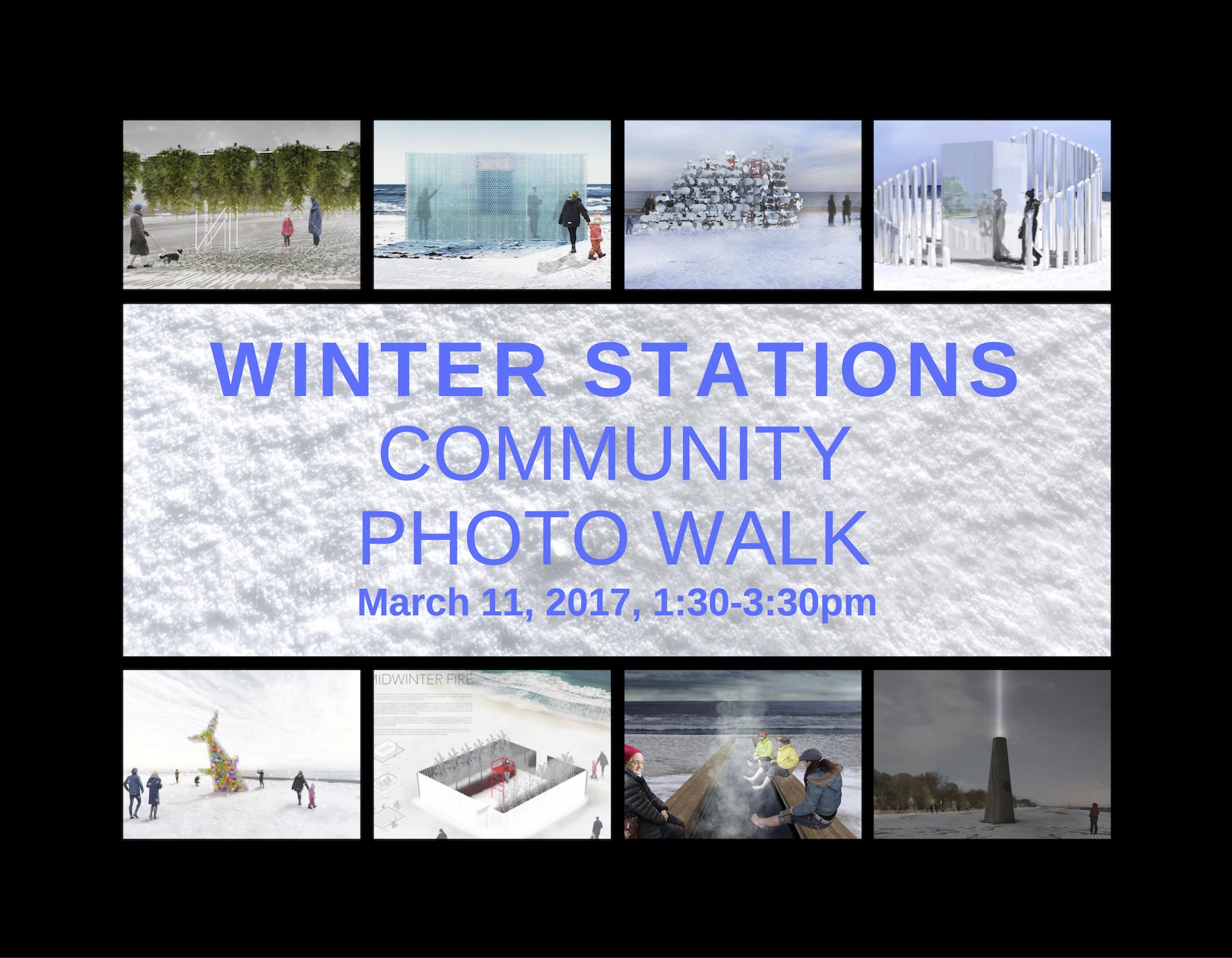 Winter Stations Community Photo Walk