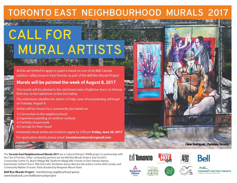 Call For Mural Artists