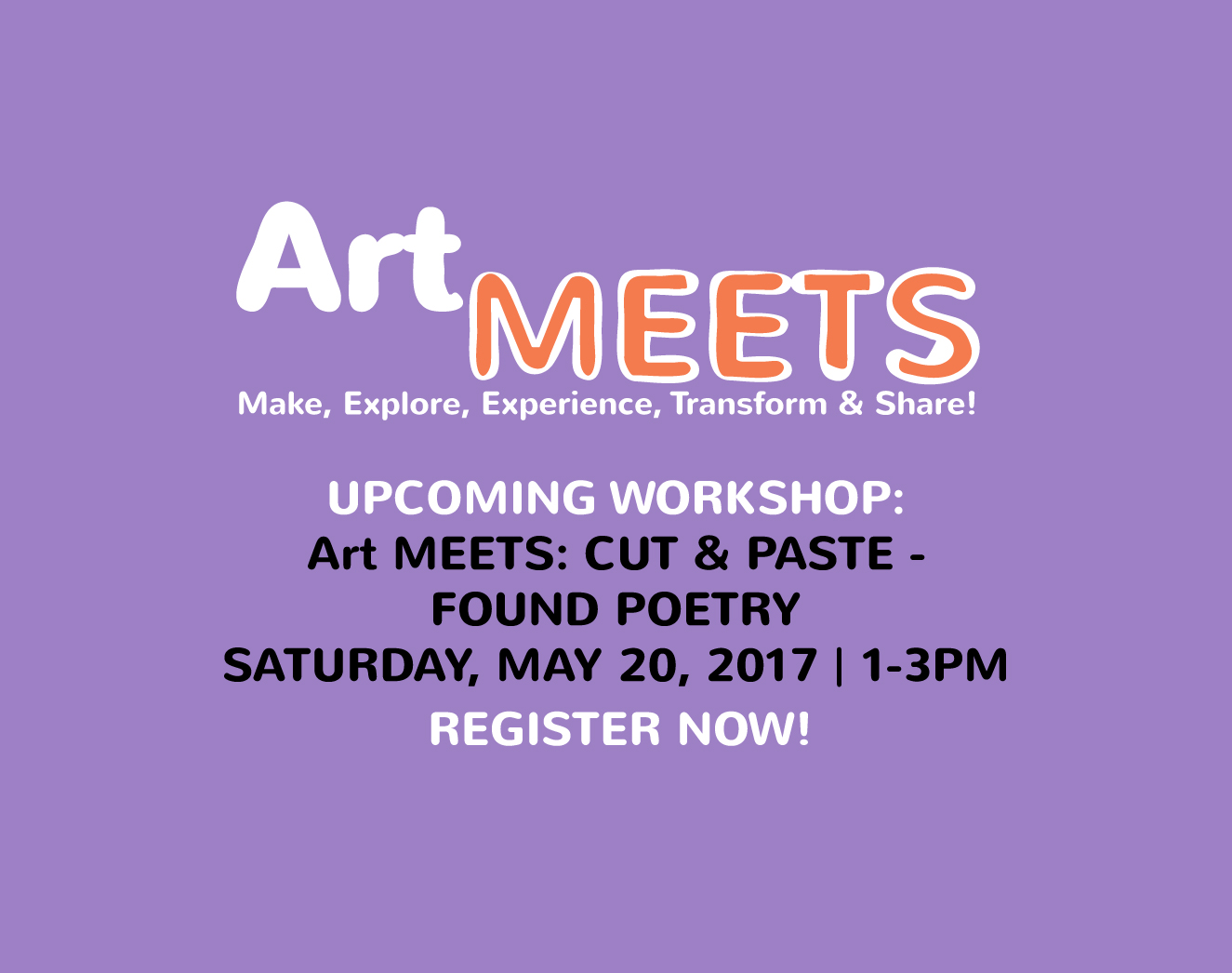 Art MEETS: Cut & Paste – Found Poetry