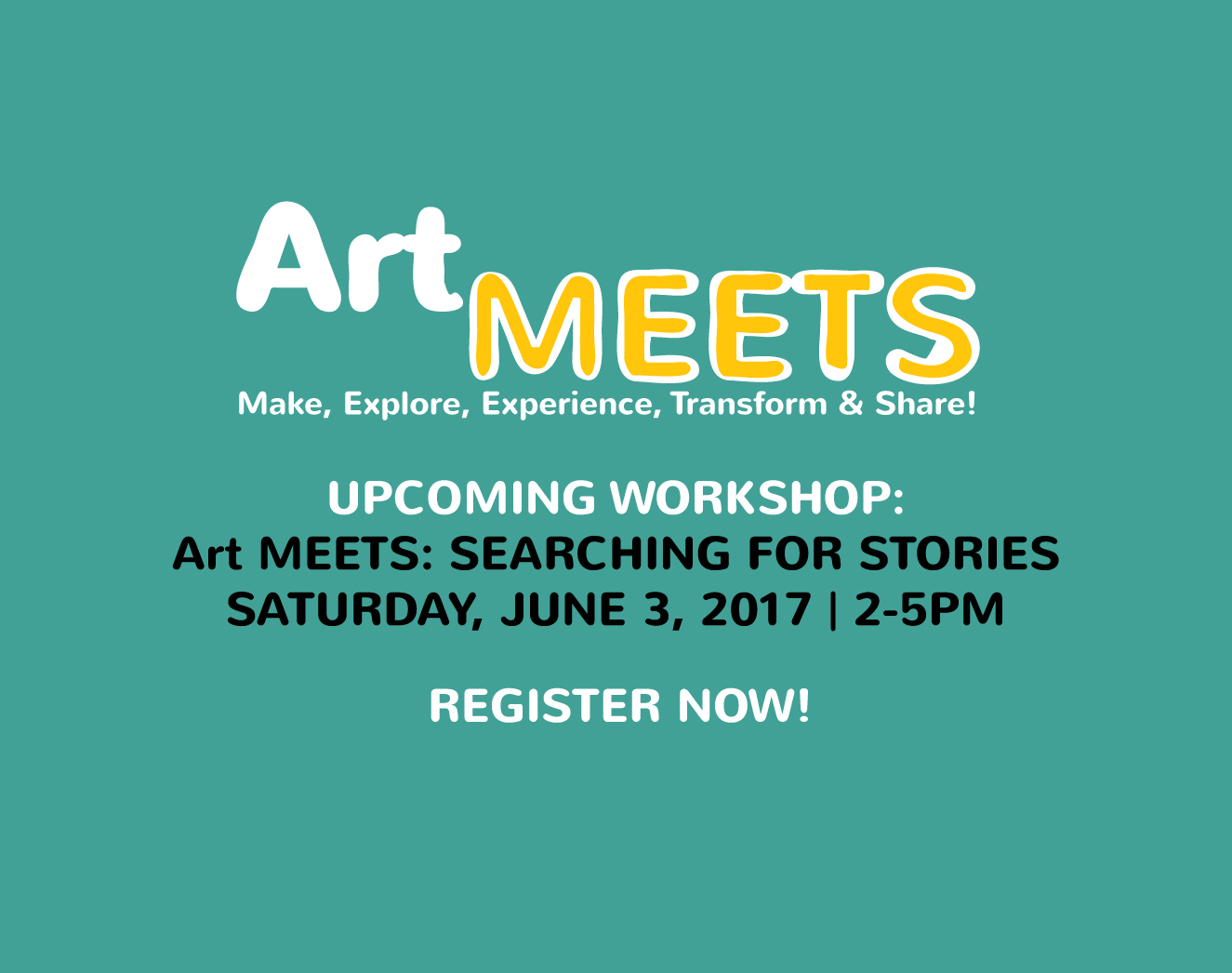 Art MEETS: Searching For Stories