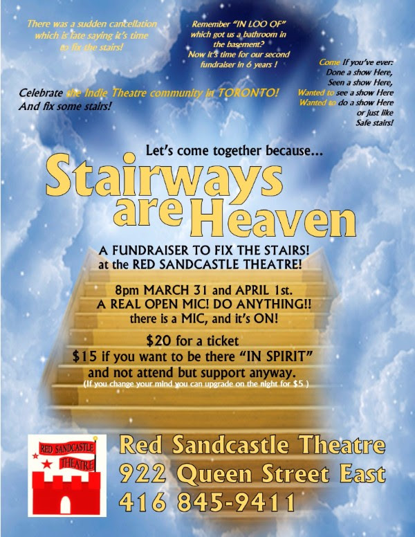 Stairways Are Heaven Red Sandcastle Theatre East End Arts