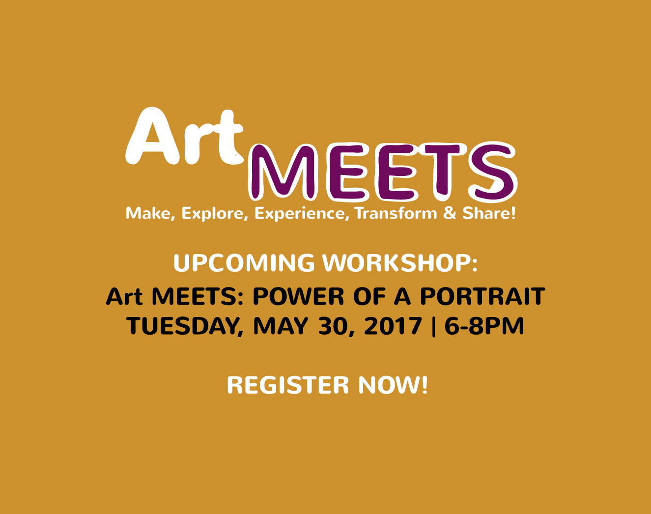 Art MEETS: Power Of A Portrait