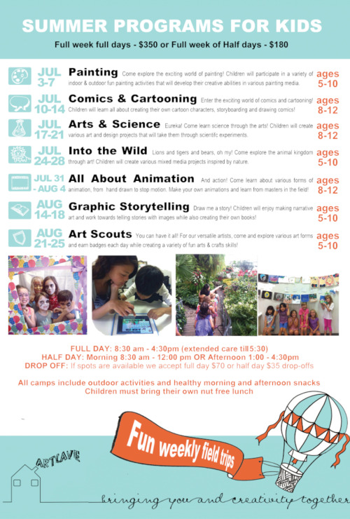 2017 Summer Arts Camps in Toronto\'s East End - EAST END ARTS
