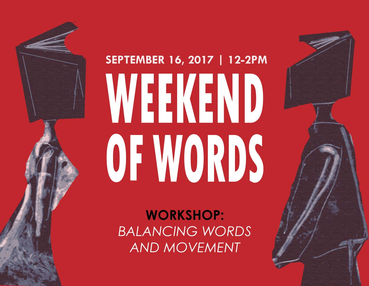 Balancing Words And Movement