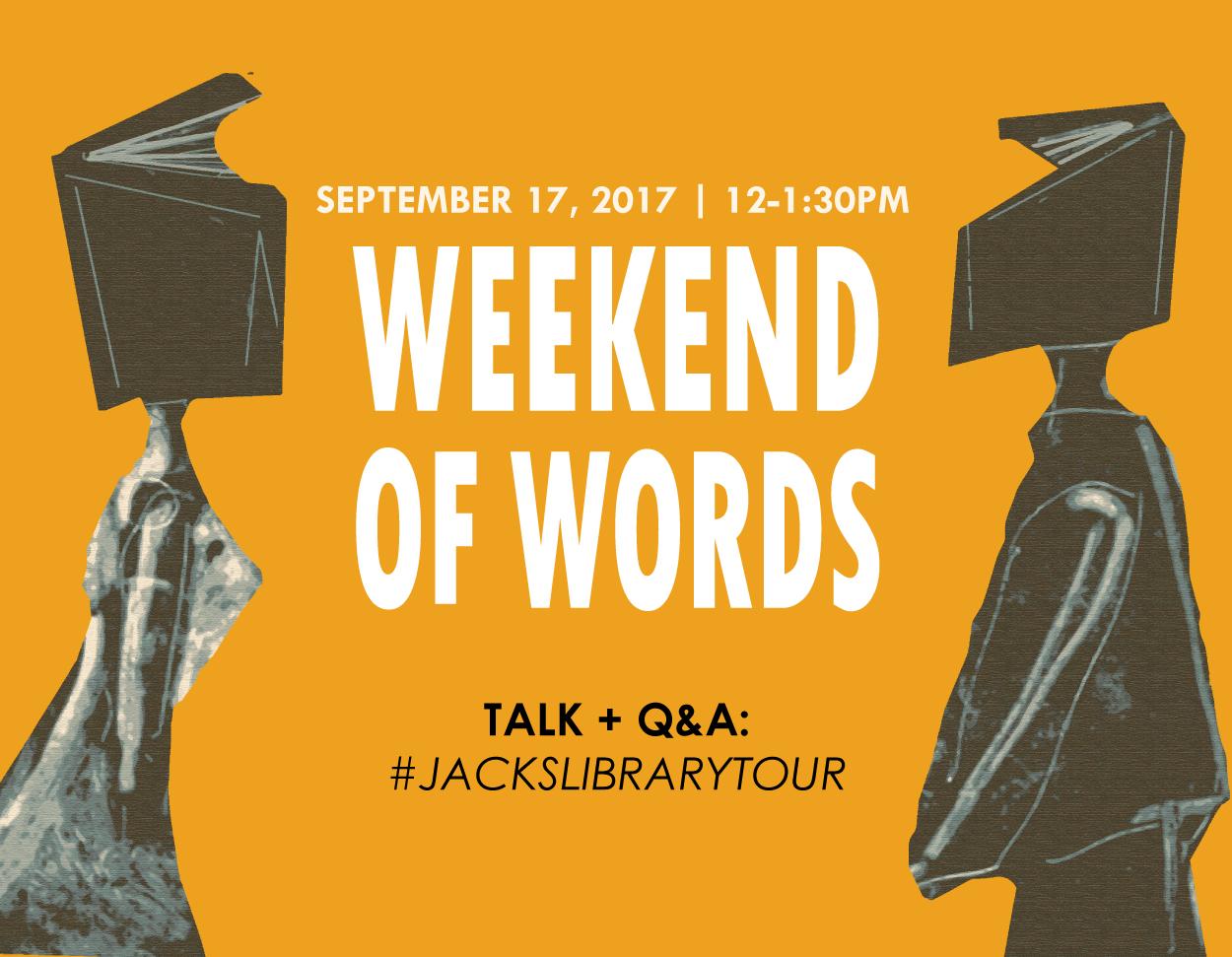 Talk + Q&A: #JacksLibraryTour