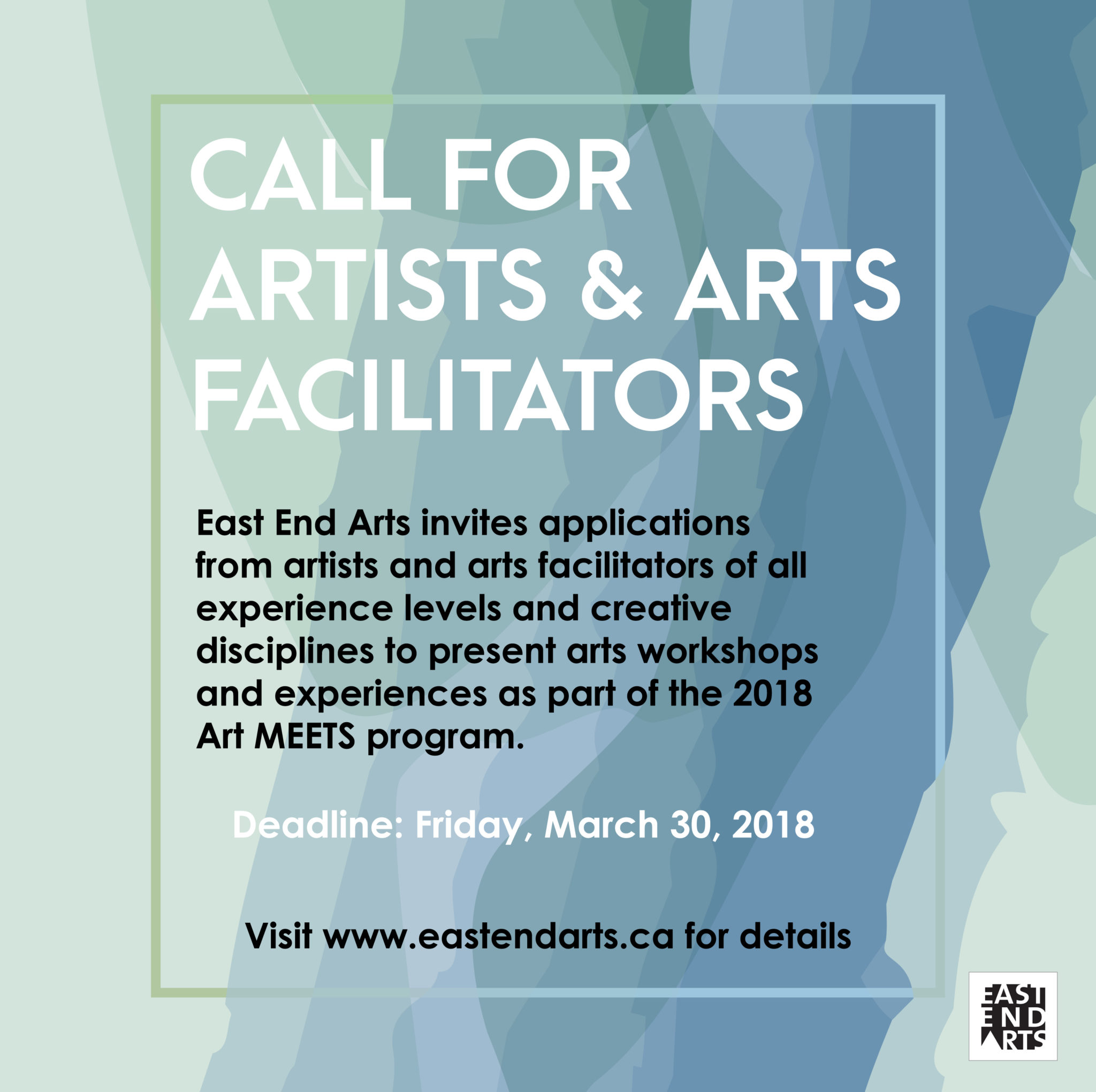 Art MEETS 2018: Call for Artists - East End Arts