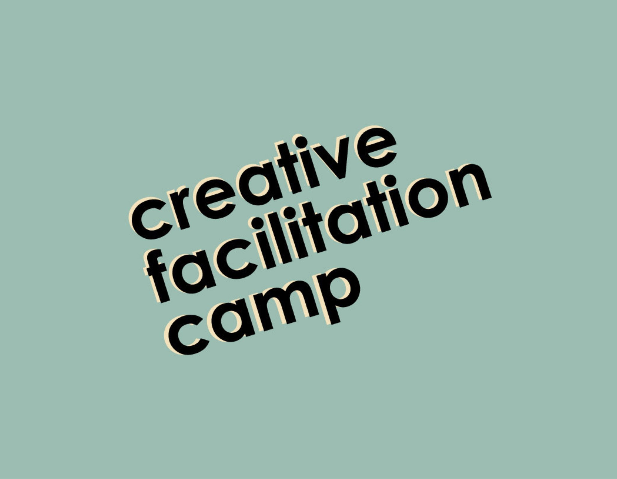 Creative Facilitation Camp Subsidy Application