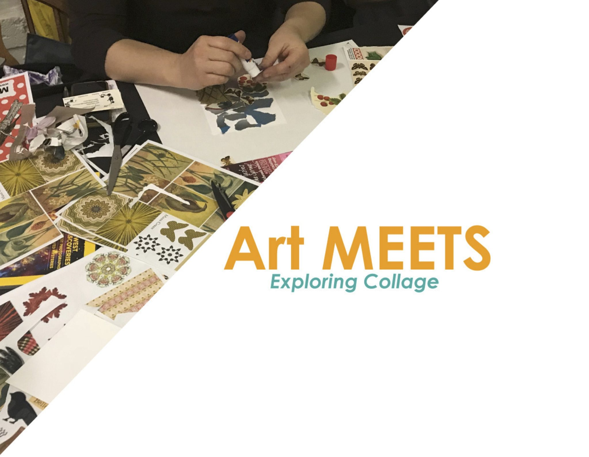 Art MEETS: Exploring Collage