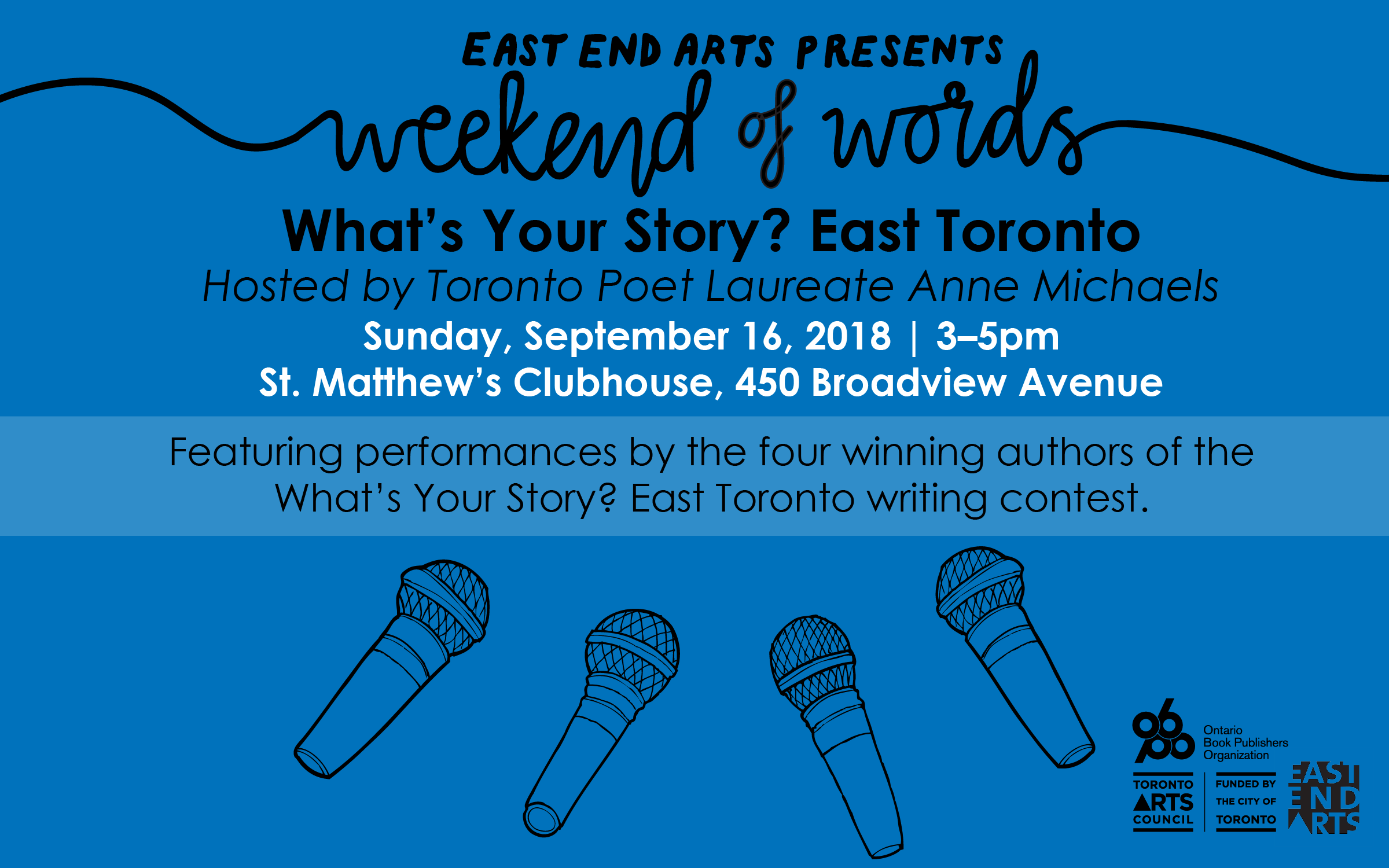 What's Your Story? East Toronto - East End Arts