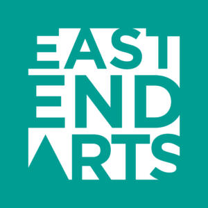 East End Arts teal logo
