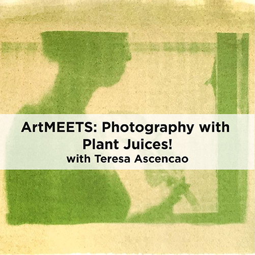 ArtMEETS: Photography With Plant Juices!