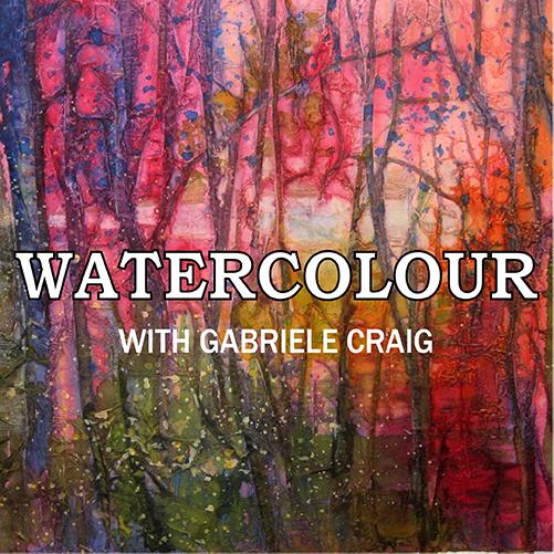 Watercolour With Gabriele Craig