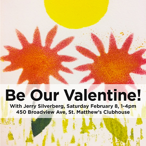 Winter ArtMEETS: Be Our Valentine