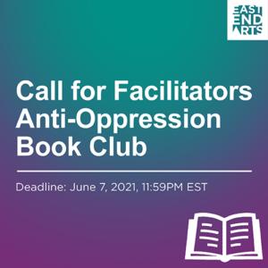 Call For Facilitators: Anti-Oppression Book Club