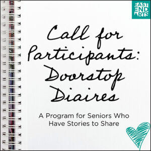 Call For Participants: Doorstop Diaries
