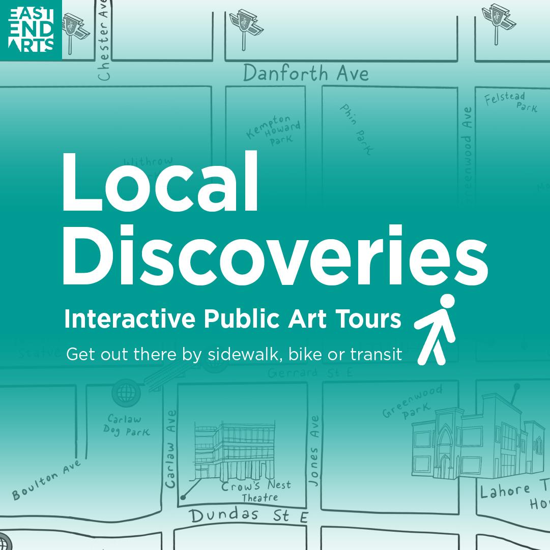 Local Discoveries Interactive Public Art Tours