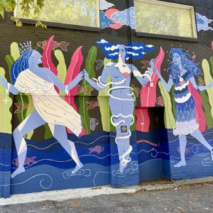 Press Release: Women Paint Riverside Transforms East End Laneway